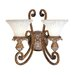 <strong>Savannah 2 Light Wall Sconce</strong> by Livex Lighting