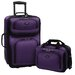 <strong>Traveler's Choice</strong> Rio 2 Piece Expandable Luggage Set