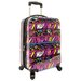 "Traveler's Choice Bohemian 21"" Hardside Carry-On Spinner Luggage"