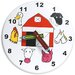 "<strong>Holgate Toys</strong> 10"" Kids Farm Wall Clock"