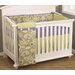 <strong>Periwinkle 4 Piece Crib Bedding Set</strong> by Cotton Tale
