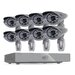SVAT Electronics PRO™ 8CH H.264 1 TB Smart Security DVR with 8  Ultra Hi-res Outdoor Surveillance Cameras and Smart Phone Compatibility