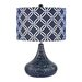 "Dimond Lighting Textured 20.5"" H Table Lamp with Drum Shade"