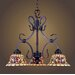 Tiffany Buckingham 3 Light Mini Chandelier
