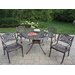 <strong>Oakland Living</strong> Capitol Mississippi 5 Piece Dining Set