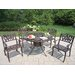 Sunray Tulip 5 Piece Dining Set