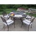 <strong>Mississippi Dining Set with Cushions</strong> by Oakland Living