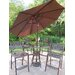 Hummingbird Mississippi 5 Piece Bar Height Dining Set with Umbrella
