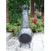 Cast Iron Leaf Chimenea