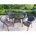 <strong>Resin Wicker 5 Piece Dining Set</strong> by Oakland Living