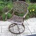 Mississippi Cast Aluminum Swivel Rocker - Pack of 2