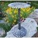 Sunflower Butterfly Bird Bath
