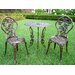 <strong>Rose 3 Piece Bistro Set</strong> by Oakland Living