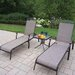 <strong>Oakland Living</strong> Cascade 3 Piece Lounge Seating Set