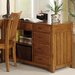 <strong>Liberty Furniture</strong> Hampton Bay Computer Credenza in Oak