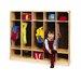 Whitney Brothers 5-Section Coat Locker