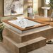 """<strong>Fuzion 71.75"""" x 59.75"""" Salon Spa</strong> by Jacuzzi®"""