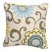 Little Castle Square Accent Pillow