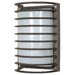 <strong>Rectangle Cage 1 Light Wall Sconce</strong> by Nuvo Lighting