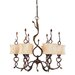 Trellio 6 Light Chandelier