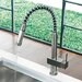 <strong>Vigo</strong> Teramo One Handle Single Hole Spiral Kitchen Faucet