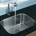 "<strong>23"" x 17.75"" Undermount Kitchen Sink</strong> by Vigo"