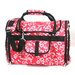 Covered Pet Carrier in Hawaiian Flower