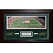 Steiner Sports New York Jets Meadowlands Panoramic Turf Collage Framed Memorabilia