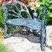 Flowerhouse Butterfly Aluminum Garden Bench