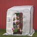 Flowerhouse Hothouse 6' x 6' Polyethylene Lean-To Greenhouse