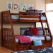 <strong>Weston Twin over Full Bunk Bed with Built-In Ladder</strong> by Discovery World Furniture