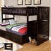 <strong>Twin over Full Staircase Bunk Bed</strong> by Discovery World Furniture