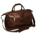 "Saddle 19"" Leather Carry-On Duffel"