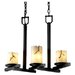 LumenAria Dakota 3 Light Chandelier
