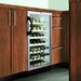 Wine Cellar with Black Cabinet