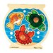 Fish Bowl Jumbo Wooden Knob Puzzle