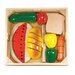 <strong>31 Piece Cutting Food Box Play Set</strong> by Melissa and Doug