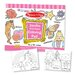 Jumbo Coloring Pad in Pink