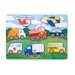 <strong>Vehicles Peg Puzzle</strong> by Melissa and Doug