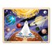 <strong>48-pieces Space Voyage Jigsaw Set</strong> by Melissa and Doug