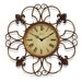 "Oversized 24"" Province Wall Clock"