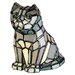 Tiffany Cat Accent Table Lamp