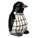 "Meyda Tiffany Tiffany Penguin 8"" H Table Lamp"
