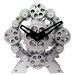 "9"" x 9"" Moving Gear Desktop Clock"