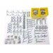 <strong>Triton Products</strong> 83 Piece Zinc Plated Steel Hook and Bin Assortment
