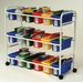Copernicus Leveled Reading Book Browser Cart with Display Racks