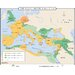 World History Wall Maps - Growth of Roman Empire