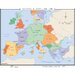 World History Wall Maps - Medieval Europe