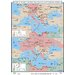World History Wall Maps - World War II in Balkans &amp; North Africa