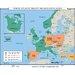 <strong>World History Wall Maps - North Atlantic Treaty Organization (NATO)</strong> by Universal Map